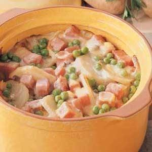 Potato Ham Bake Recipe