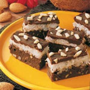 Almond Coconut Brownies Recipe