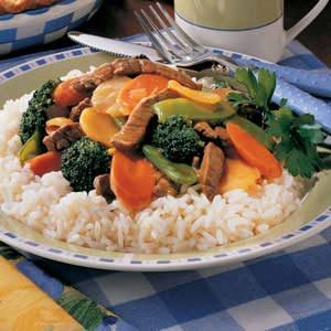 Flavorful Beef Stir-Fry Recipe