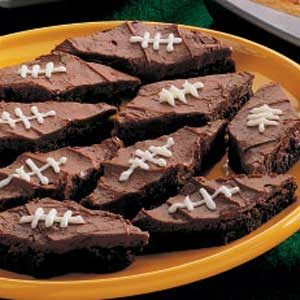 Football Brownies Recipe