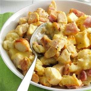 Ham 'n' Swiss Chicken Recipe