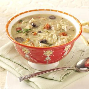 Mediterranean Chicken Soup Recipe