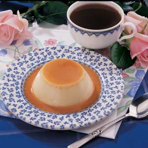 Quicker Caramel Flan Recipe