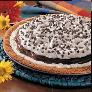 Chocolate Pudding Pizza Recipe
