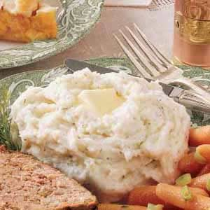 Dilly Mashed Potatoes Recipe