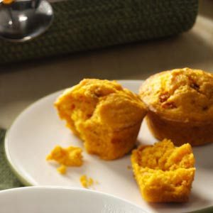 Spicy Salsa Muffins Recipe