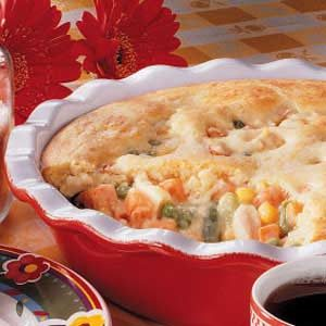 Quick Chicken Pie Recipe