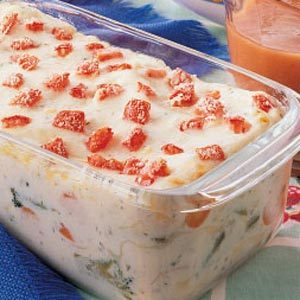 Vegetarian Lasagna Loaf Recipe