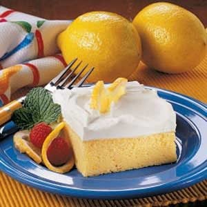 Light Lemon Cake Recipe