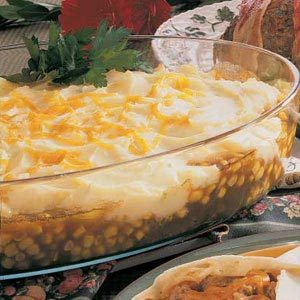Meat Loaf Shepherd's Pie