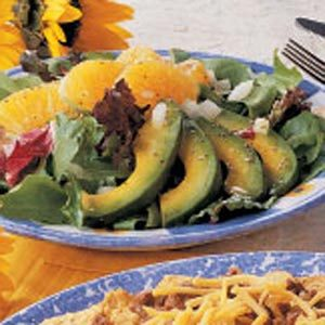 Avocado Orange Salad Recipe
