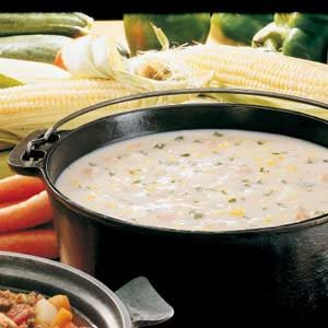 Corn and Ham Chowder Recipe