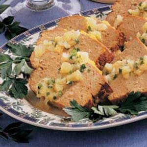 Tropical Turkey Meat Loaf Recipe