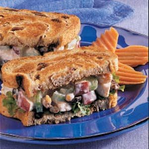 Waldorf Turkey Sandwiches Recipe