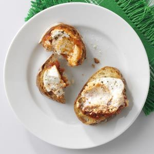 Warm Goat Cheese in Marinara Recipe
