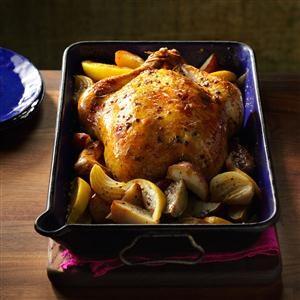 Lemon & Sage Roasted Chicken Recipe