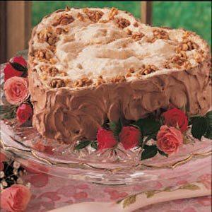 Sweetheart Walnut Torte Recipe