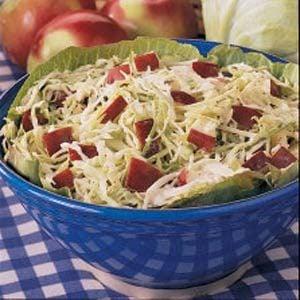 Apple Cabbage Slaw Recipe