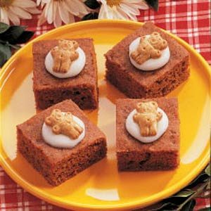 Teddy Carrot Bars Recipe