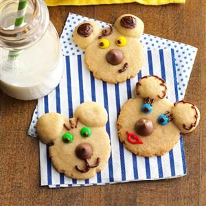 Beary Cute Cookies Recipe