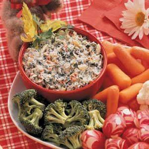 Bear's Picnic Veggie Dip Recipe