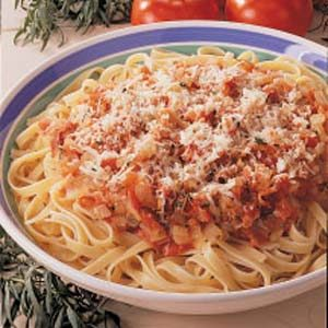 Fabulous Fettuccine Recipe