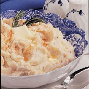 Garlic Roasted Mashed Potatoes Recipe