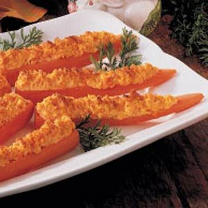 Baked Stuffed Carrots Recipe