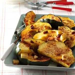 Maple Glazed Squash Recipe