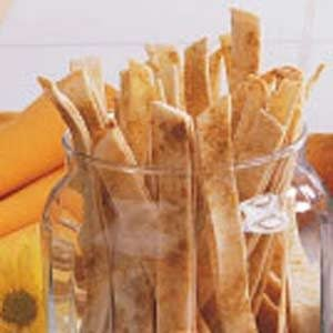 Tortilla Snack Strips Recipe
