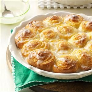 No-Knead Citrus Rolls Recipe