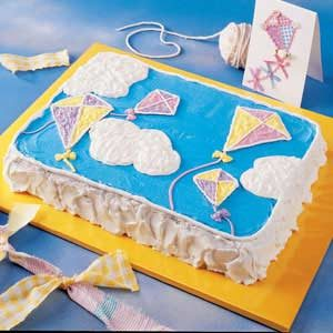 Kite Birthday Cake Recipe