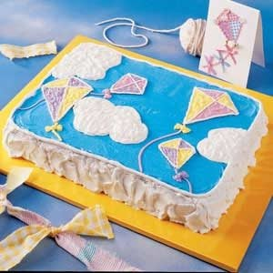 Kite Birthday Cake