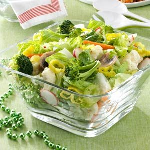 Italian Veggie Salad Recipe
