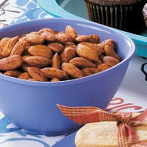 Savory Spiced Almonds Recipe