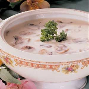 Quick Cream of Mushroom Soup Recipe