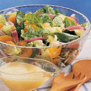 Sweet 'n' Sour Tossed Salad Recipe