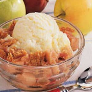 Apple Rhubarb Crumble Recipe