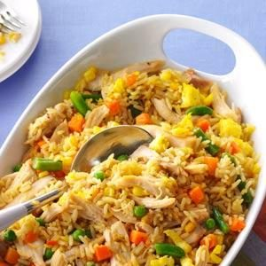 Super Quick Chicken Fried Rice Recipe