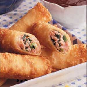 Hawaiian Egg Rolls Recipe