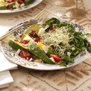 Kale & Bacon Salad with Honey-Horseradish Vinaigrette Recipe