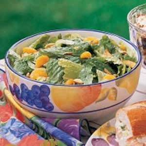 Romaine with Oranges and Almonds Recipe