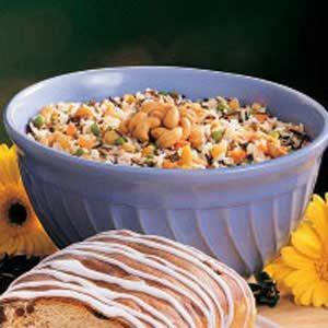 Cashew Rice Pilaf Recipe