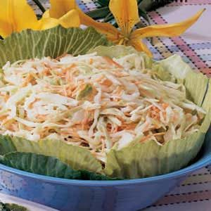 Easy Tangy Coleslaw Recipe