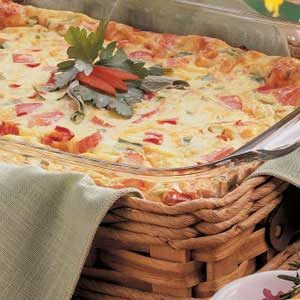 Crab Quiche Bake Recipe
