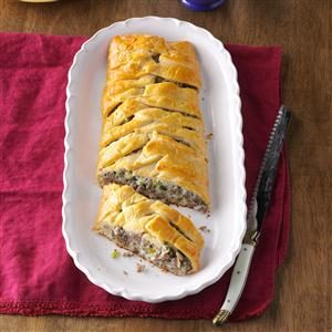 Sausage Brunch Braid