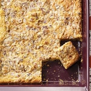 Caramel-Pecan Dream Bars Recipe