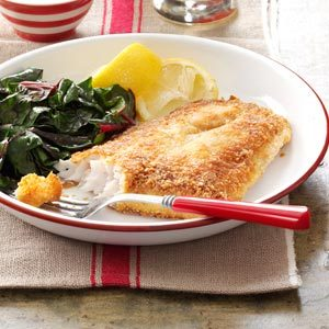 Crunchy-Coated Walleye Recipe