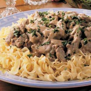Three-Step Stroganoff Recipe
