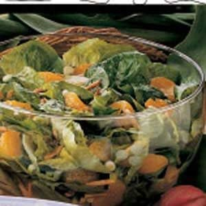 Orange Lettuce Salad Recipe